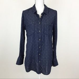 Merona Button Down Shirt Tunic